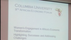 Women's role in Africa's Economic Transformation