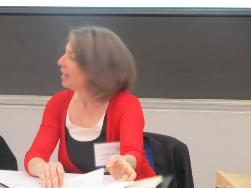 Sara Lawrence Minard - Moderator