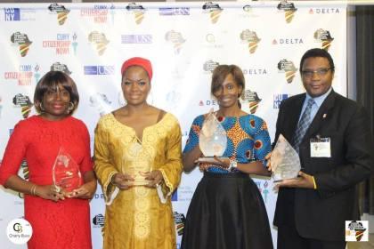 Mary Olushoga, Macdella Cooper, Bisila Bokoko, Wale Ajibade