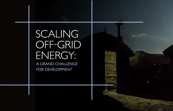Scaling Off-Grid