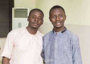 Zubairu Emmanuel and Dr. Ten