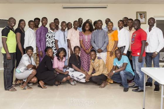 Participants at the AWP Network Pitch Training Session