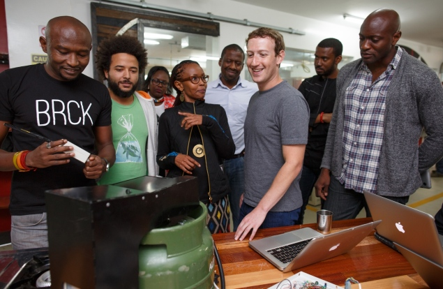 Mark Zuckerberg in Kenya