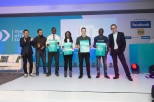 _From L-R_ Jorn Lyseggen (Meltwater), Yusuf Kaka (MTN), Peter Awin (Cowtribe), Mary Mwangi (Data Integrated Ltd), Russel Luck (Swiftvee), Adegboye Niyi (Accounteer) and Julien Decot (Dir
